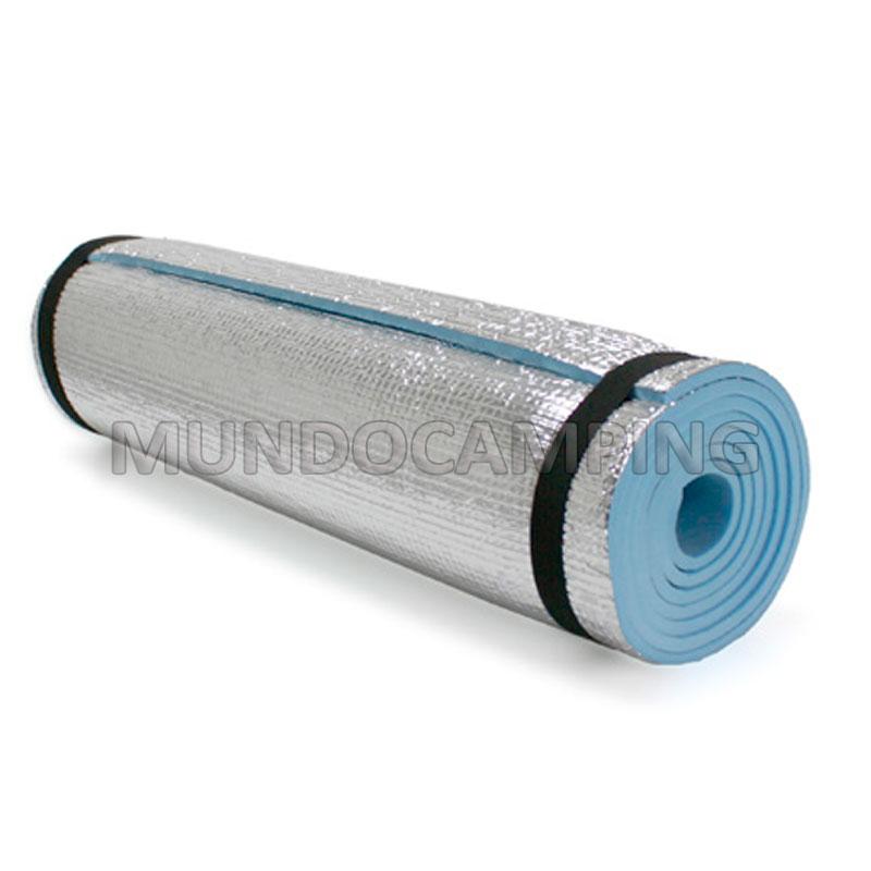 Aislante termico goma eva aluminizado mundo camping for Mejor aislante termico
