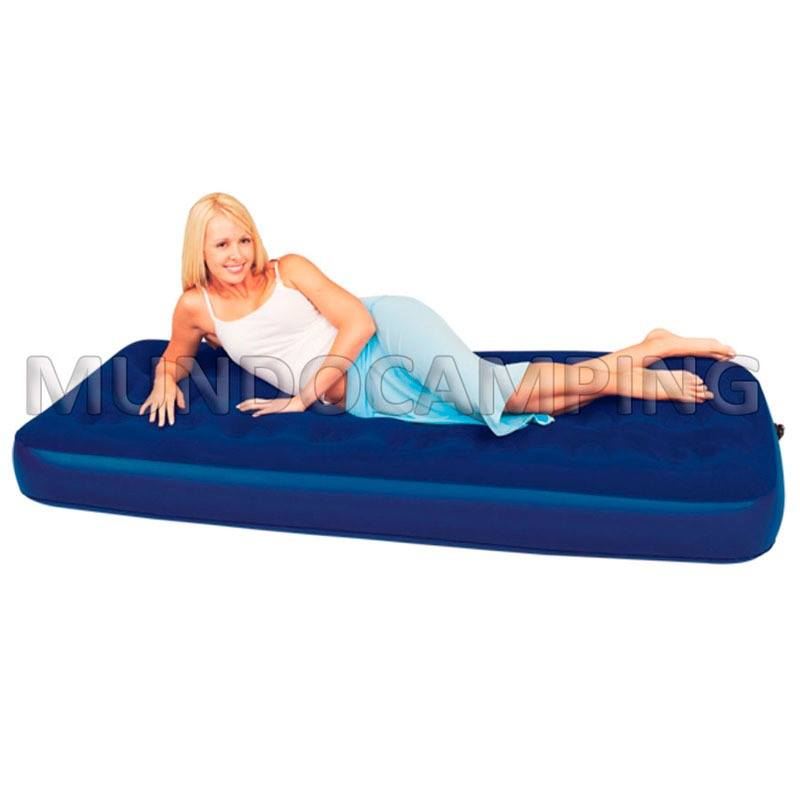 Colchon inflable bestway 1 plaza mundo camping - Colchones inflables camping ...