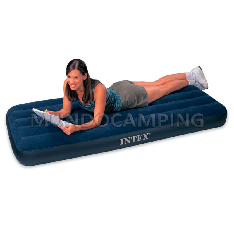 Colchon inflable intex 1 plaza mundo camping - Colchones inflables camping ...