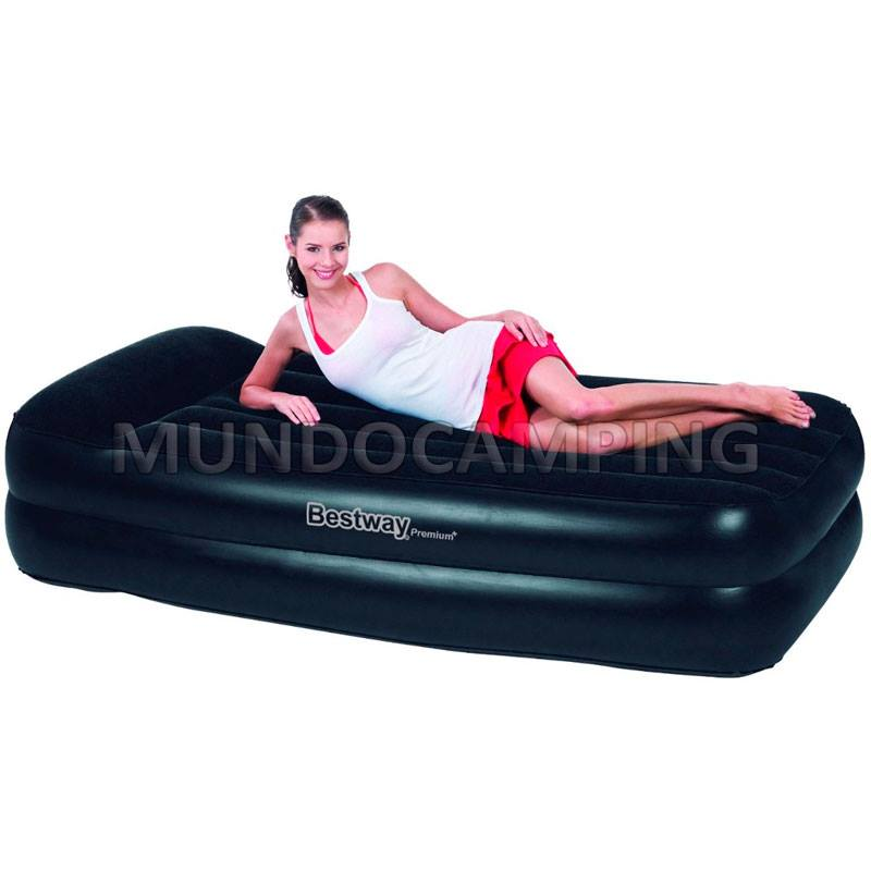 Colchon inflable bestway 1 1 2 plaza con inflador electrico mundo camping - Colchones inflables camping ...