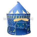 Castillo de Juegos Plegable Azul