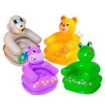 Sillon Inflable Intex Infantil Animales