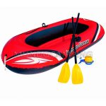 Bote Inflable Bestway 196cm con Remos