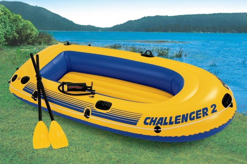 Botes inflables mundo camping - Colchones inflables camping ...