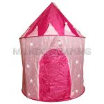 Castillo de Juegos Plegable Rosa