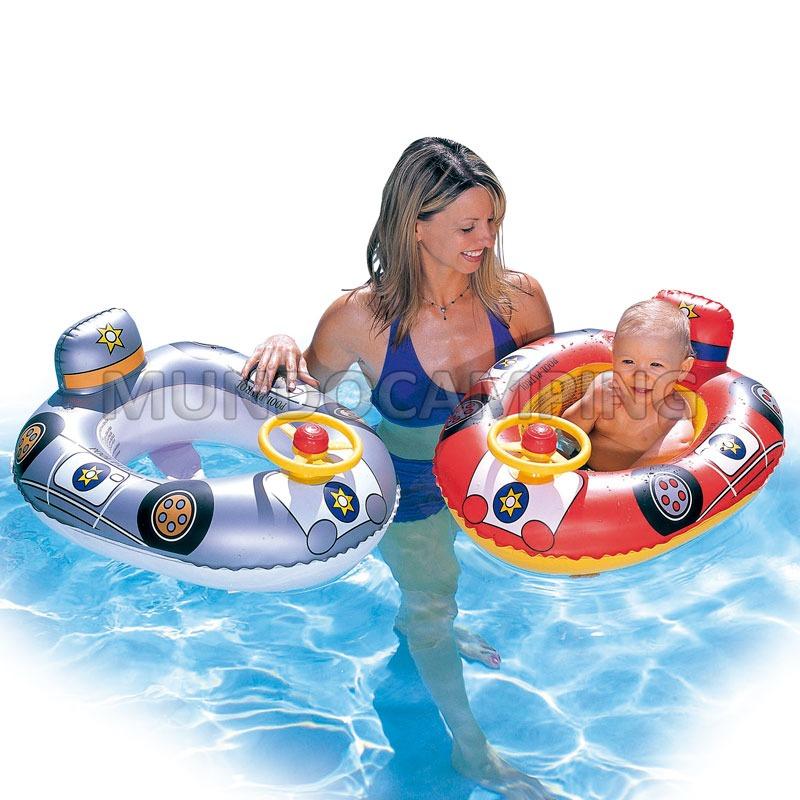 Bote salvavidas inflable bestway bebe mundo camping for Piletas infantiles intex