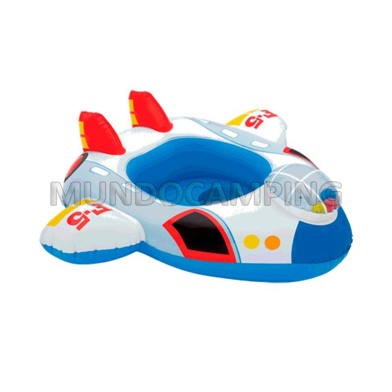 Bote salvavidas inflable intex bebe mundo camping for Piletas infantiles intex