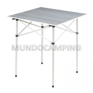 Mesa de aluminio plegable camping mundo camping for Mesas plegables para camping