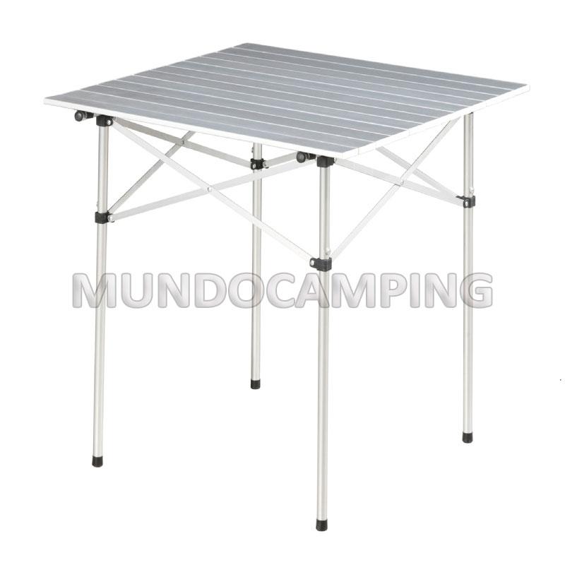 De Mesa Plegable CampingMundo Aluminio EYW2IDH9