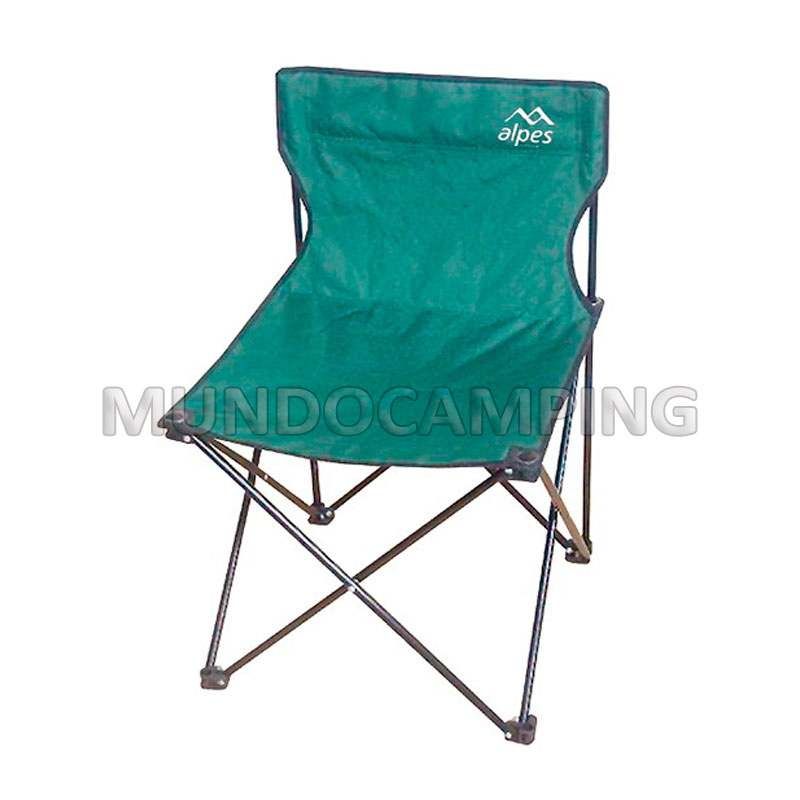Silla plegable alpes mundo camping - Silla camping plegable ...