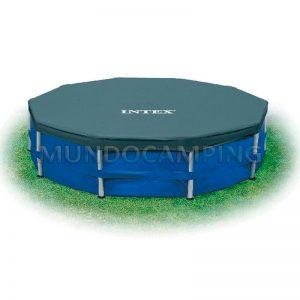 Cobertor intex 305cm para estructural mundo camping for Precios de piletas inflables intex
